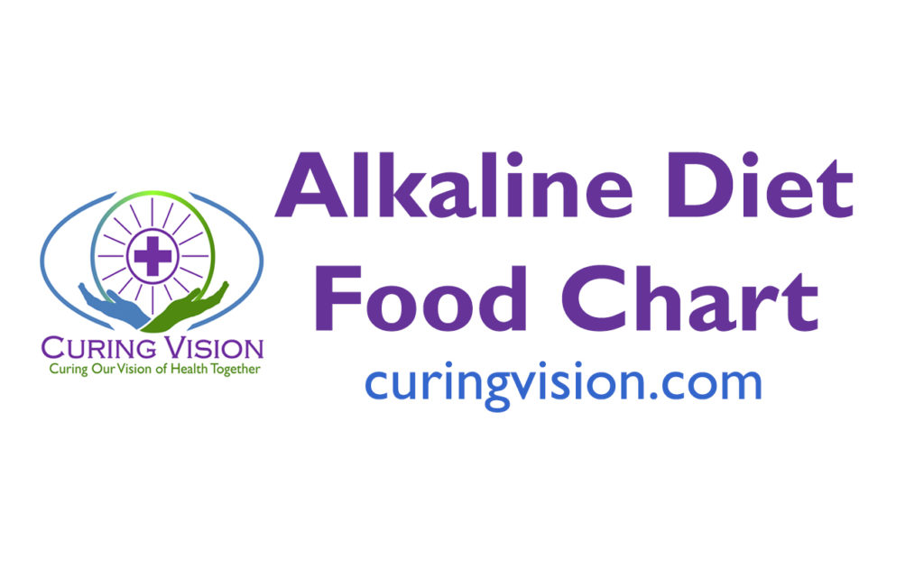 Curing Vision's Alkaline Diet Food Chart