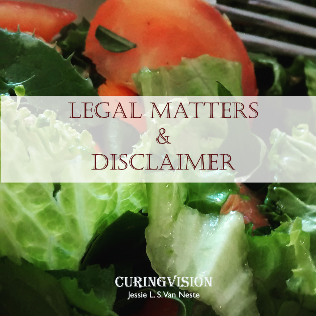 Legal Matters and Disclaimer