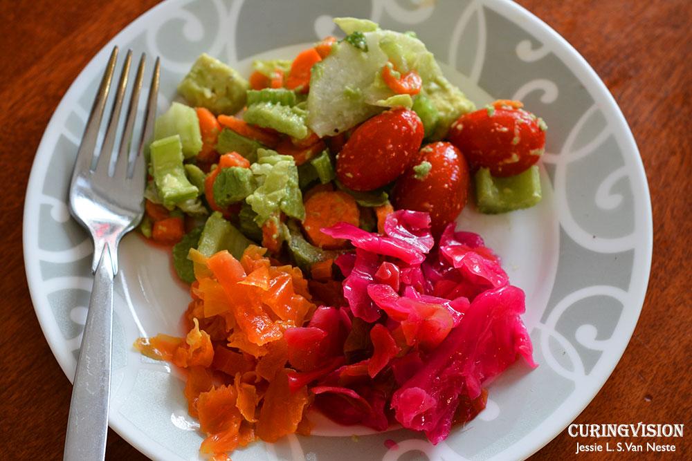 Sauerkraut-with-Salad