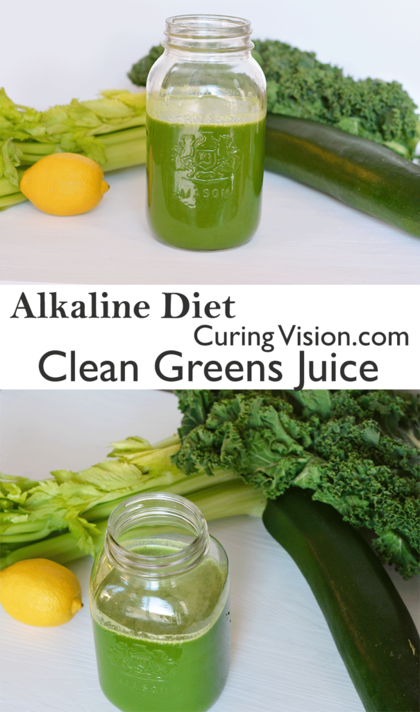 Alkaline Diet Celery Green Juice for improving digestive health, symptoms with IBS, GERD, Wahls Protocol, AIP Paleo, GAPS Diet, Blenderized Diet.