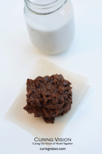 Alkaline Diet Chocolate Chip Cookie Recipe with Sweet Potato - vegan, free of grains, dairy, and eggs.