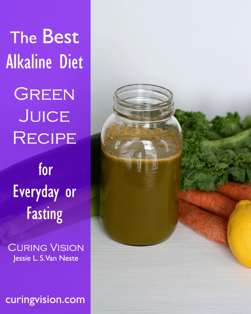 Best Alkaline Diet Green Juice Recipe