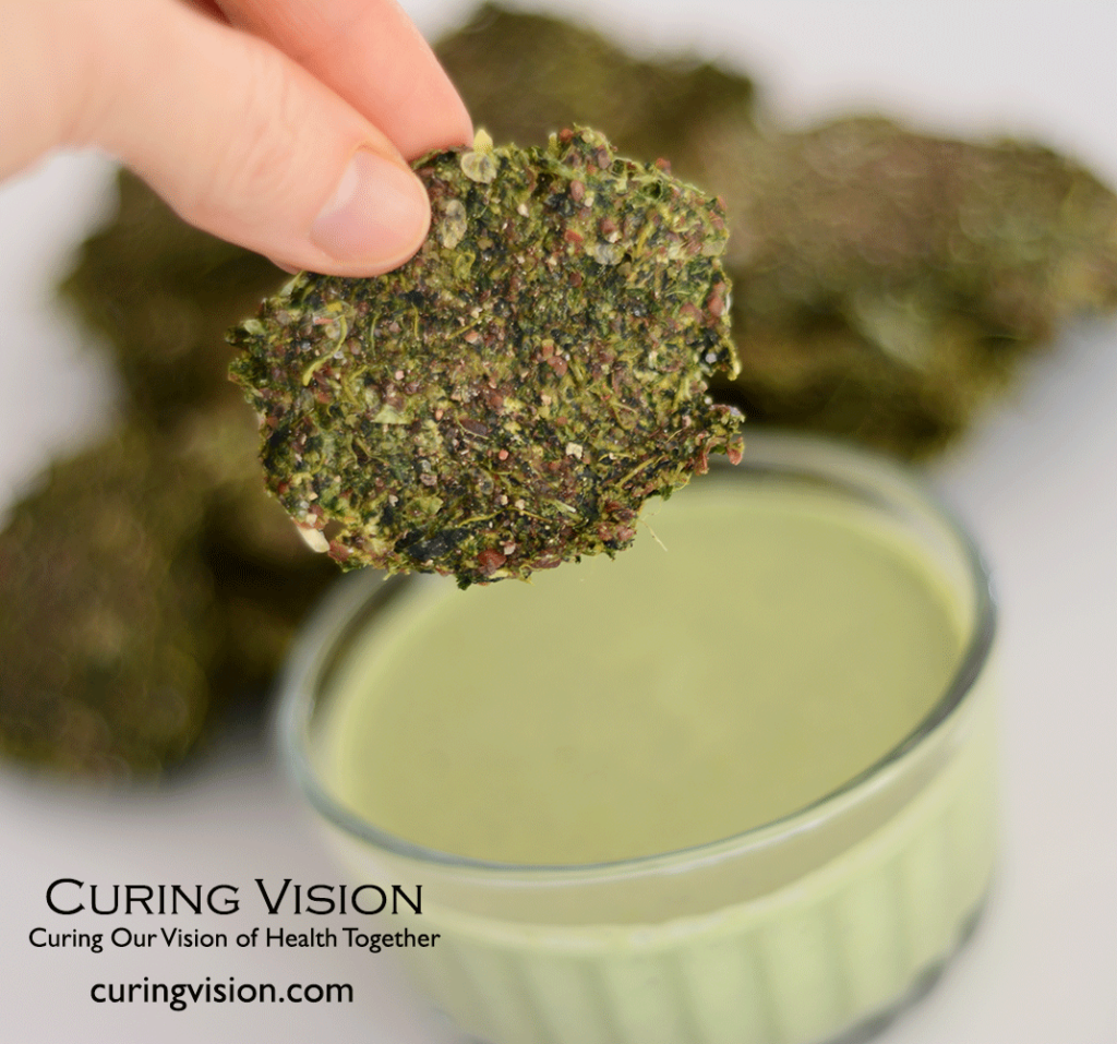 Alkaline Diet Raw Zucchini Flax Juice Pulp Crackers - that actually taste really good!