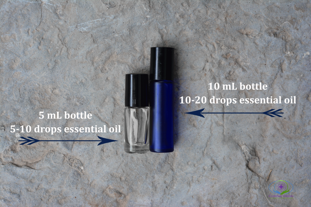 How to make an essential oils roller bottle for tick bites
