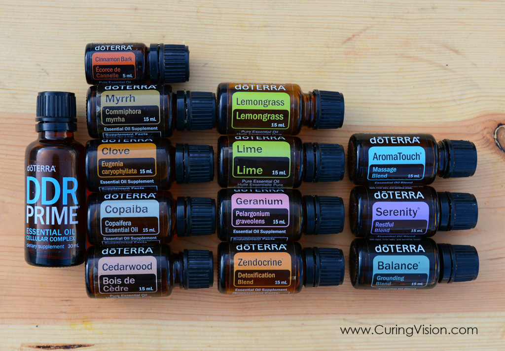 How to Use doTERRA Essential Oils that are not included in the prepared kits. Some of the best essential oils are not included in the smaller price point kits, this is a collection of My Favorites Kit (though a couple of these do come in an aroma kit) and I explain how I use each one. Click to read more if you want to learn about doTERRA essential oils and how to order them at a 25% savings discount. www.CuringVision.com