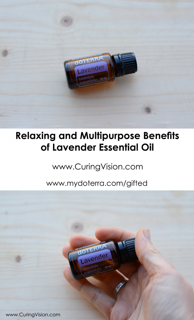 How to Use Lavender Essential oil and order from doTERRA with a 25% discount. www.CuringVision.com www.mydoterra.com/gifted There are many benefits to using lavender essential oil from soothing skin, restful sleep, cellular health support, and insect bite relief.