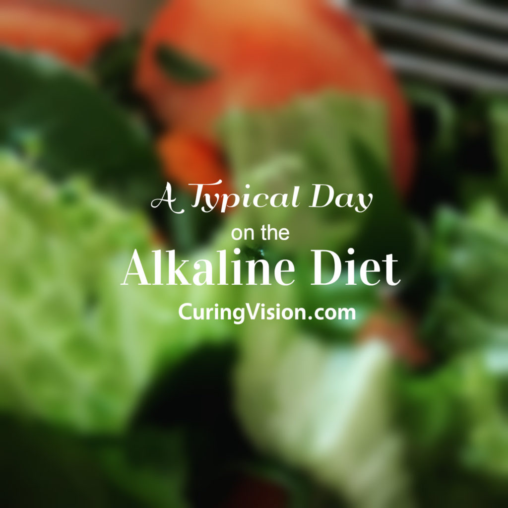 A Typical Day on the Alkaline Diet