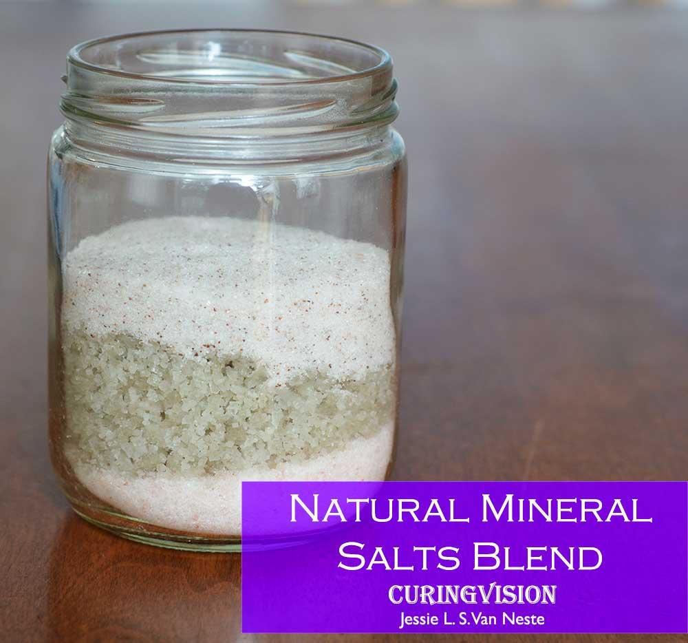 Alkaline Diet Natural Mineral Salt Blend Recipe