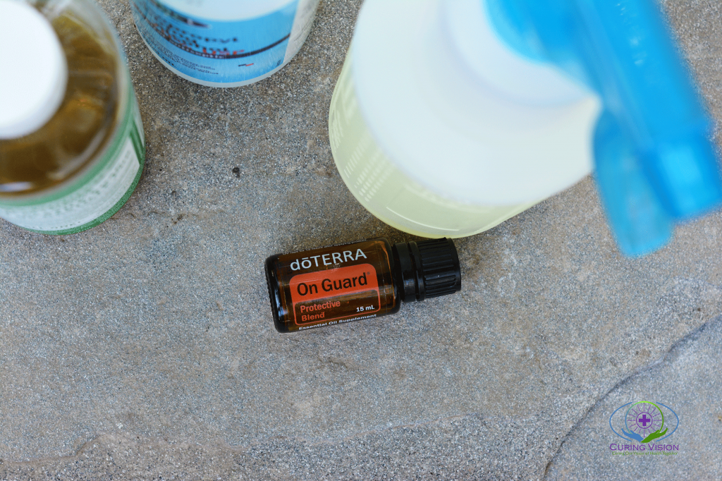 How to Make On Guard Cleaning Spray with doTERRA essential oils recipe